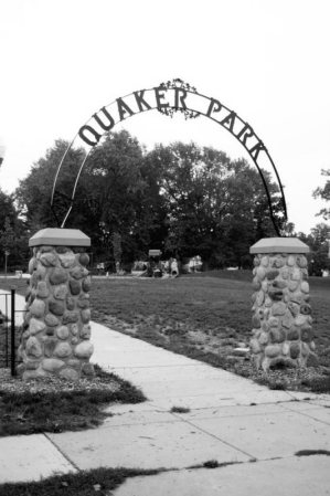 QP Entrance B&W
