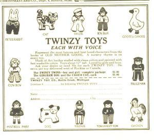 Twinzy Ad Art